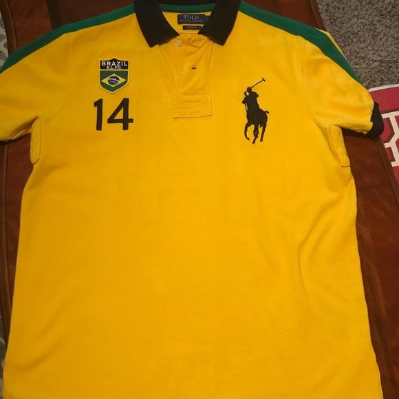 Polo Lauren Polo Lauren Ralph Shirt Brazil Brazil Ralph Shirt by6gYf7v